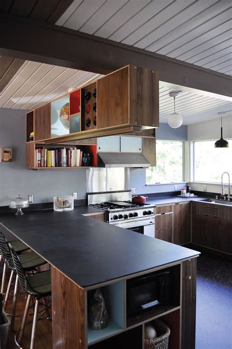 Mid Century Modern Countertops by Slate Countertops Designs