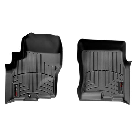 Digital Floor Mats by Weathertech 174 440471 Digitalfit 1st Row Black Molded