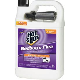 hot shot bed bug powder shop hot shot 128 oz bed bug trigger spray at lowes com