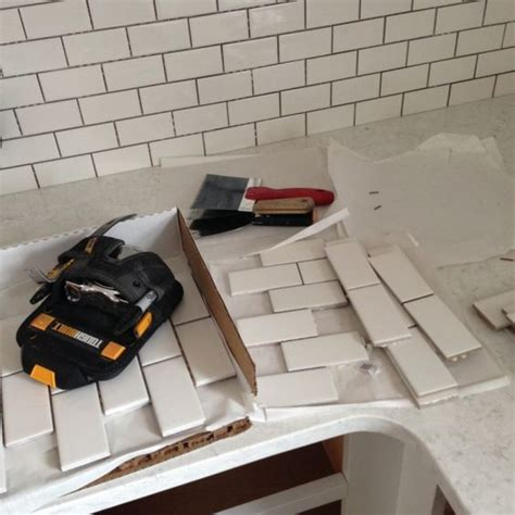 quot the backsplash is sheets of 2 215 4 inch subway tile from