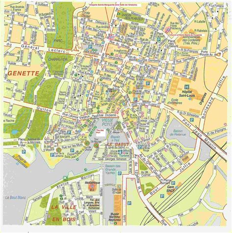 map of la rochelle la rochelle map my