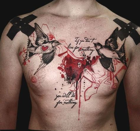 chest tattoo trash polka 25 best ideas about trash polka style on pinterest