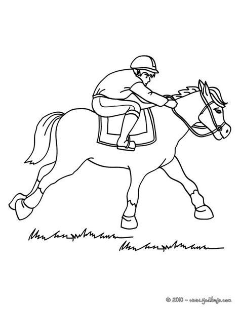 dibujos para colorear caballos image gallery jinete de dibujos