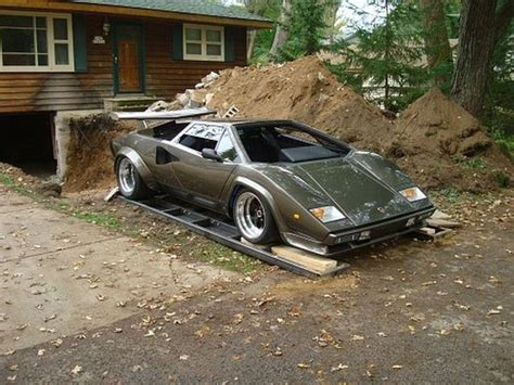 Lamborghini 9 Made by Home Made Lamborghini Built In 10 Years 35 Pics