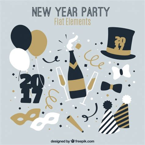 new year calculator element chagne vectors photos and psd files free