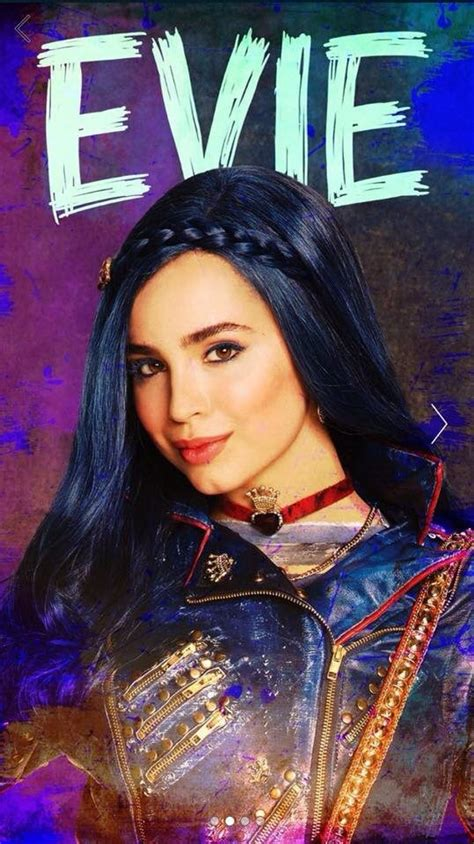 Evie E by Sofia Carson As Evie The Of The Evil In