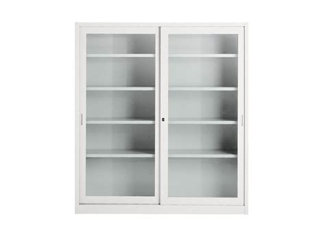 Office Storage Cabinets With Sliding Doors Classic Style Glass Office Storage Unit With Sliding Doors Tempered Cabinet With Sliding Doors