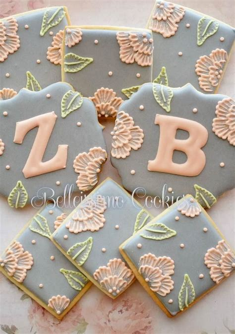 25  Best Ideas about Decorated Wedding Cookies on