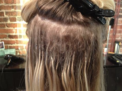 thin hair after extension removal shrink links hair extensions one stylists quest to