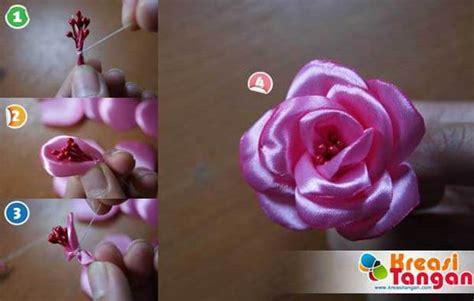 video   membuat bunga  pita beserta gambarnya