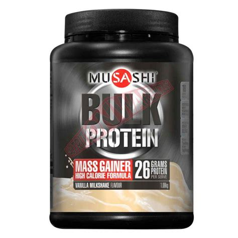 musashi bulk mass gain protein promotes weight gain and recovery big brands warehouse prices