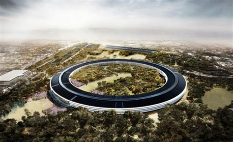 new apple headquarters apple s new headquarters in cupertino damn cool pictures