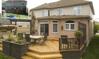 deck cost small backyard deck cost landscaping gardening ideas