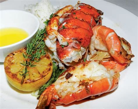 The Dish: Lobster with Asparagus and Basmati Rice - ALL AT SEA