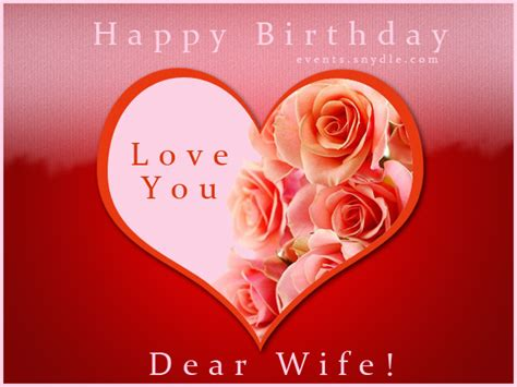printable greeting cards wife happy birthday cards for wife