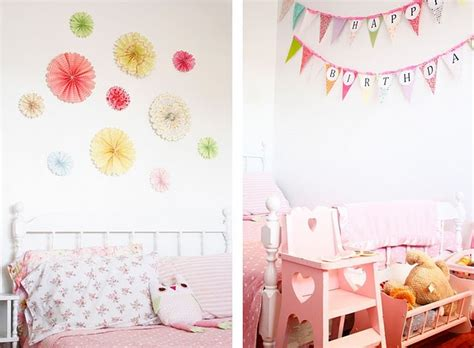 Handmade Birthday Decorations - a subtle revelry handcrafted ruffled style a