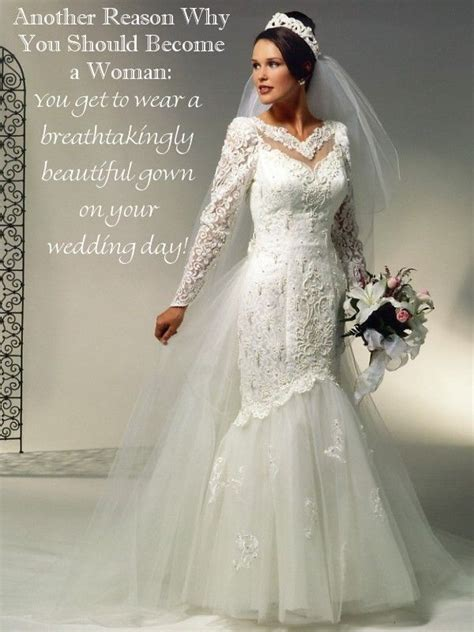 boy becomes bride caption 1023 best a very beautiful wedding gown images on