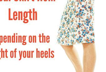 What Is Your Favorite Hem Length by How To Find Your Ideal Skirt Or Dress Hem Length Paperblog