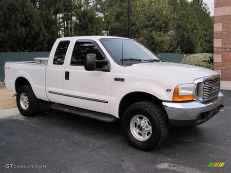 ford f250 2000 oxford white 2000 ford f250 duty lariat extended cab