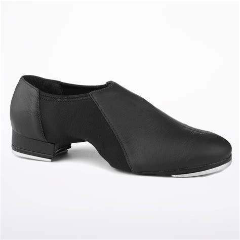 so danca slip on tap shoe black move dancewear 174