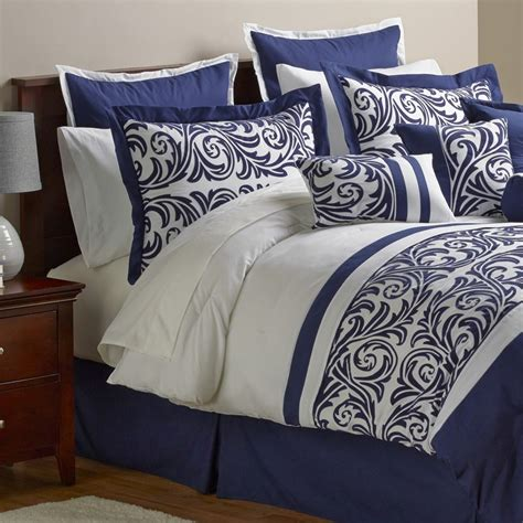 30 piece comforter set new alcove ambrosia 30 piece comforter set navy size