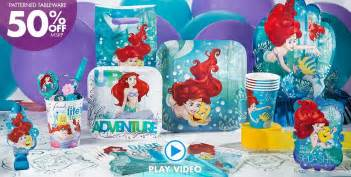 Cupcake Accessories For Kitchen - little mermaid party supplies little mermaid birthday party city