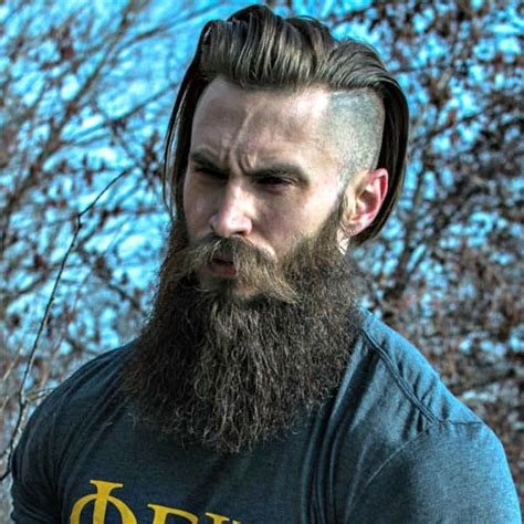 hairstyles for long hair and beard how long does it take to grow a beard men s hairstyles