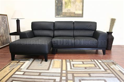 L Shaped Black Leather Sofa by Black Leather L Shaped Sofa Sectional W High Back