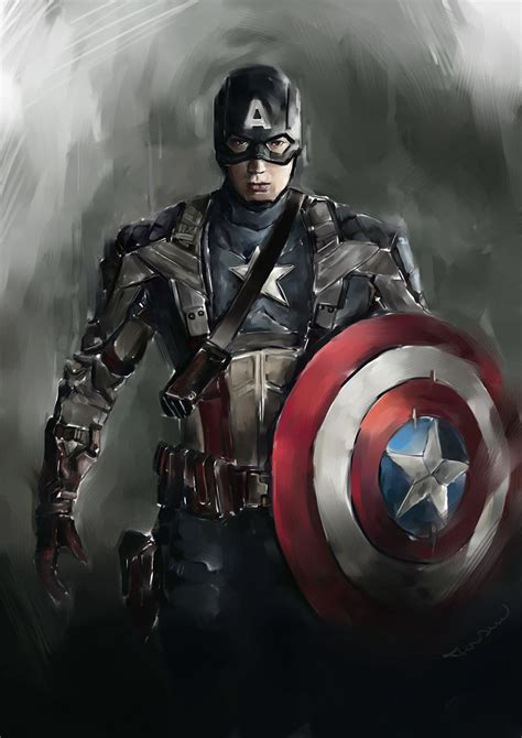 captain america wallpaper deviantart steve rogers captain america by novicekid on deviantart