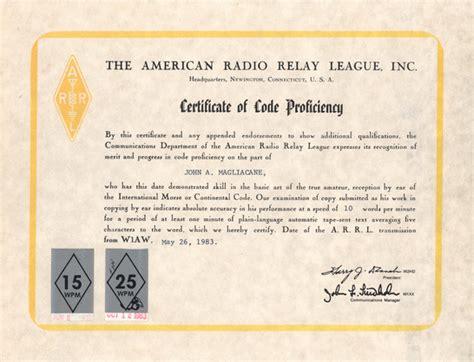 certification letter of proficiency grammar proficiency