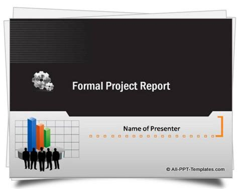 Powerpoint Project Template Template For Project Presentation