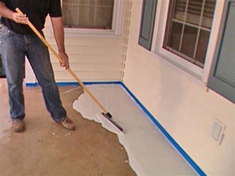 How to Stamp a Concrete Porch Floor   how tos   DIY