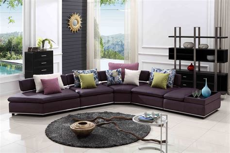 brown leather sofa purple cushions purple sofa cushions home the honoroak
