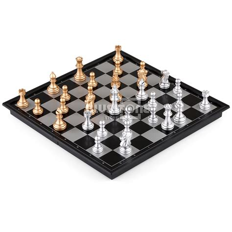 magnetic chess magnetic chess silver gold pieces chess folding magnetic