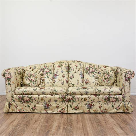 traditional sofas with skirts 20 collection of chintz covered sofas sofa ideas