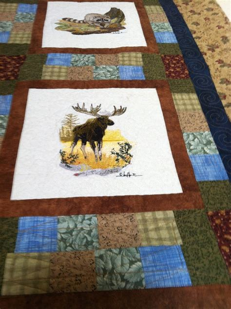 Wildlife Quilt by 17 Best Ideas About Wildlife Quilts On Panel