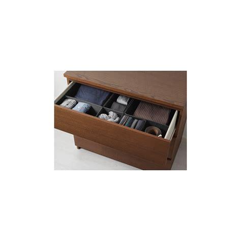 malm cassettiera 3 cassetti cassettiera con 3 cassetti mordente marrone