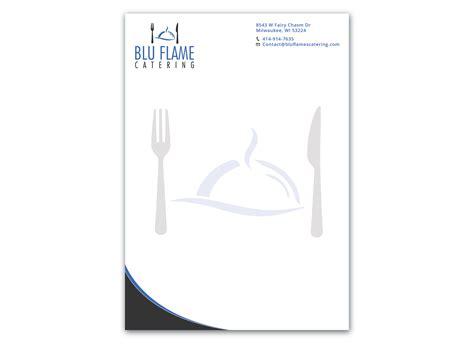 catering letterhead free printable letterhead