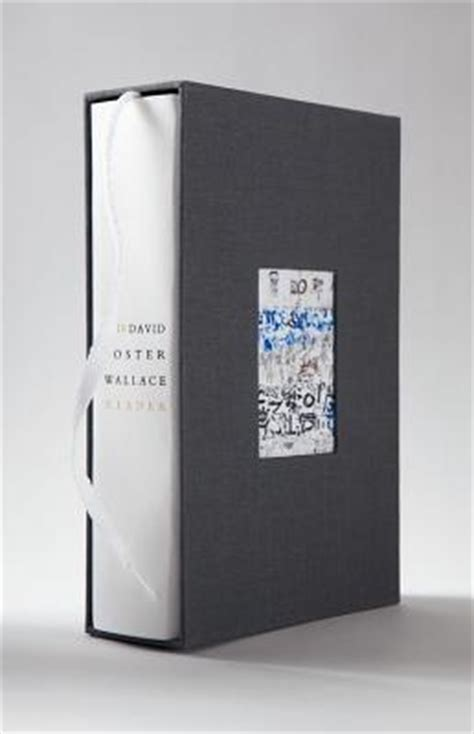 David Foster Wallace Reader the david foster wallace reader limited edition
