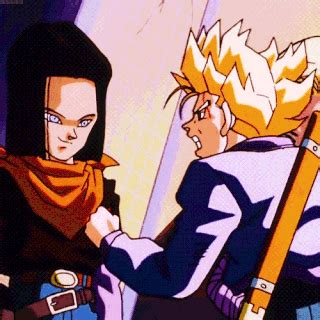 the fighters from the future tapion vs android 17
