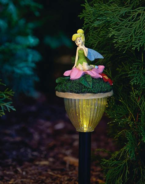 disney solar lights tinkerbell solar pathway lights give your gardens a glow