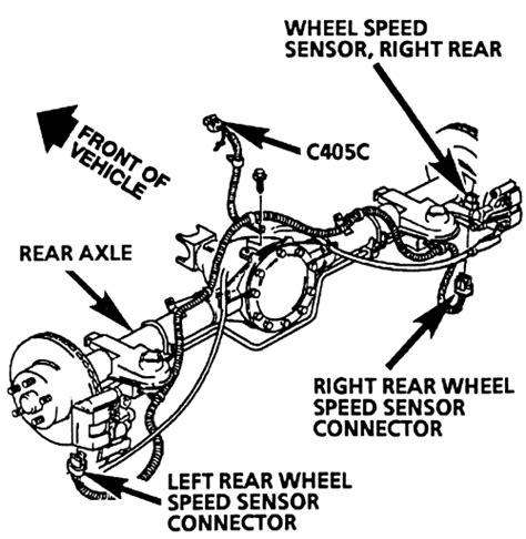 repair anti lock braking 1997 chevrolet camaro transmission control repair guides anti lock brake system abs rear wheel speed sensor assembly autozone com