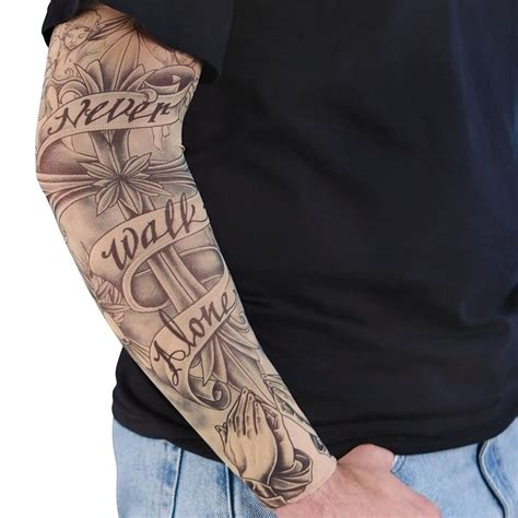 alone tattoo sleeve images designs