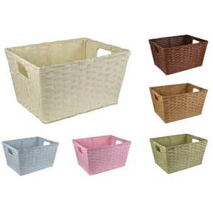 cheap storage baskets for shelves zoom