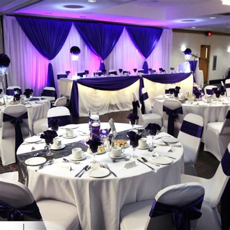 Purple Wedding Decor by Wedding And Special Event Decor Gallery Luxe Weddings