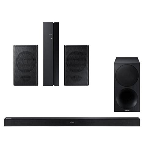 samsung hw m550 340w 3 1 channel soundbar with wireless subwoofer and swa 8500s wireless rear