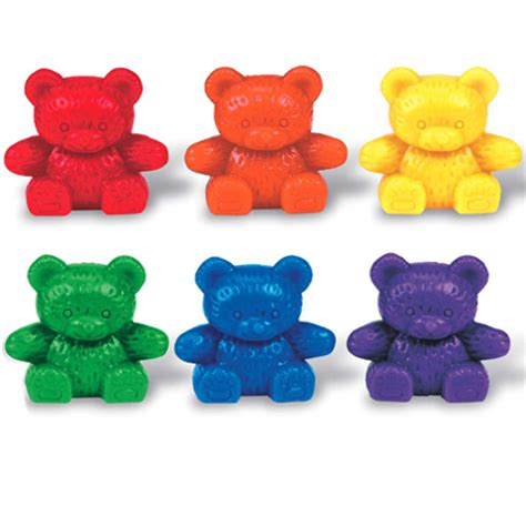 Set Hk Rainbow three family 174 counters rainbow set learning resources 174
