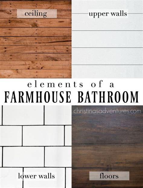 farm bathrooms best 25 farmhouse bathrooms ideas on pinterest