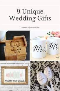 unique gift ideas for 9 unique wedding gifts