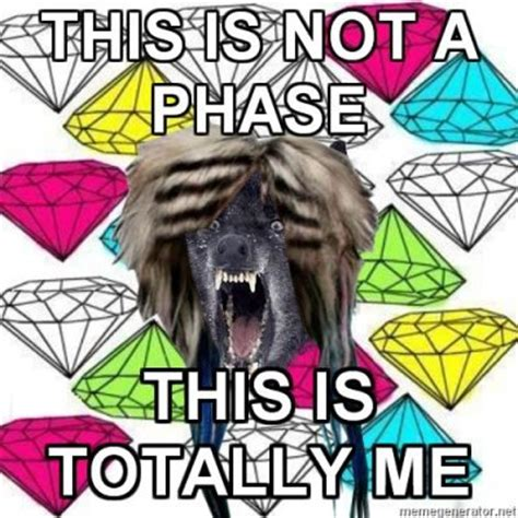 Scene Wolf Meme - scene insanity wolf